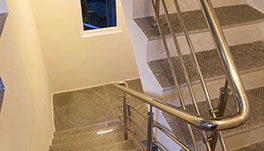 Petra Family Guest House, Valparai- Indoor Stairwell